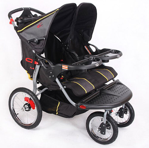 Lightweight Stroller Large Storage Basket Mammakiddies Double Twinduo Stroller Babycenter