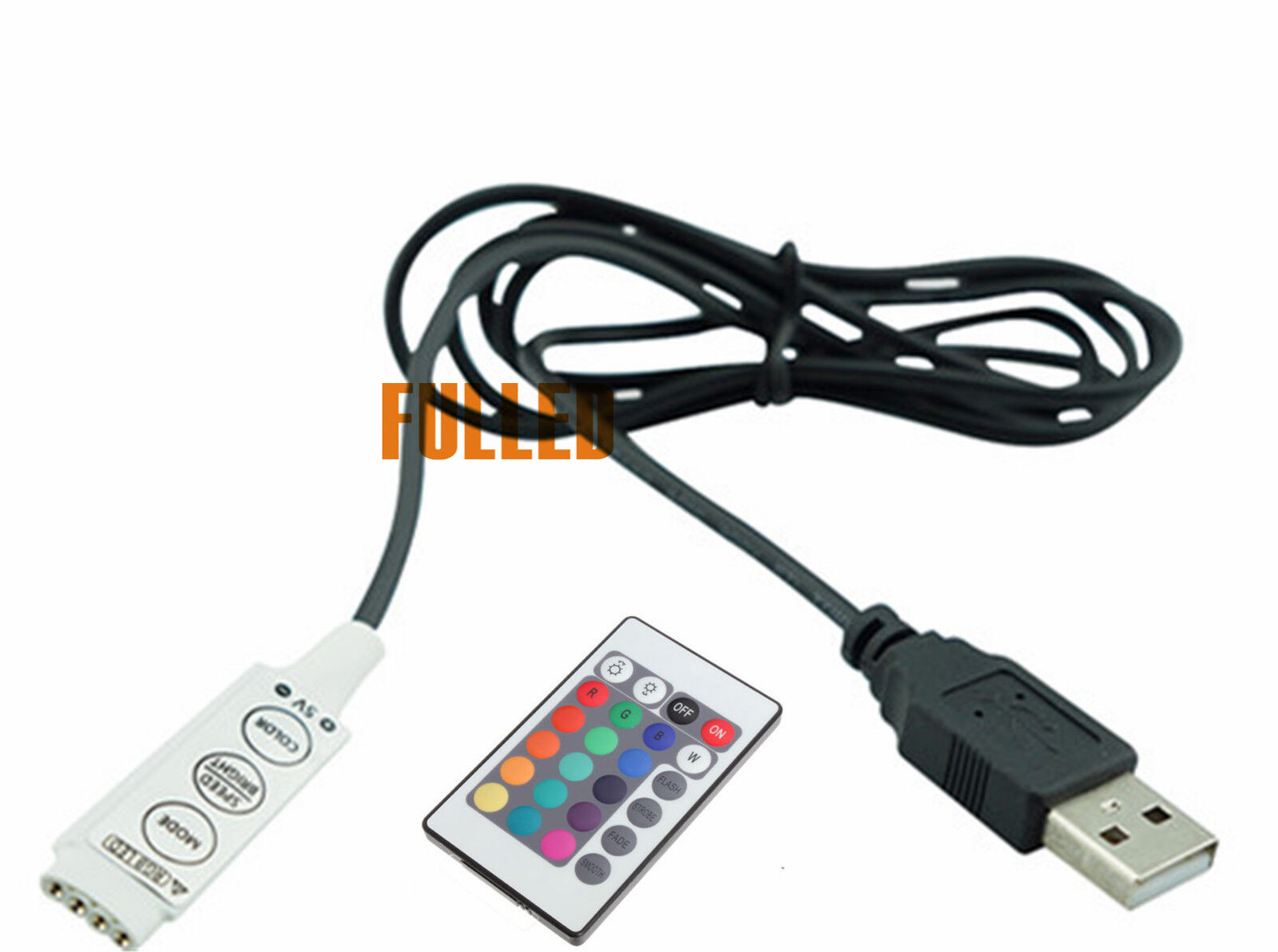 Kabel Box Batterie Box Usb Kabel Mit Mini Controller Dc Plug Für Led