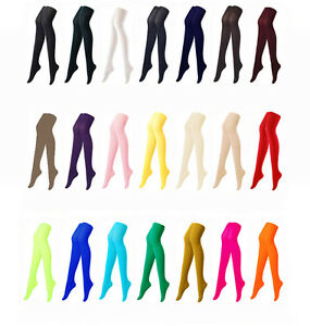 Colorful opaque pantyhose stockings tights 80 denier color