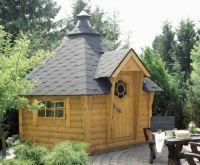 Grill Kota Grillkota Grillpavillon Grillhaus Gartenhaus | eBay