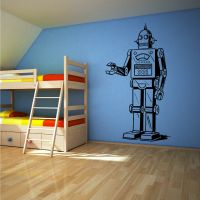ROBOT Vinyl wall art sticker decal boys bedroom CHILDRENS ...