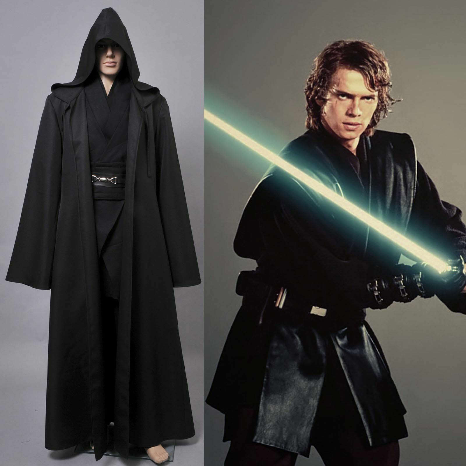 Anakin Skywalker Jedi Star Wars Jedi/sith Anakin Skywalker Halloween Cosplay
