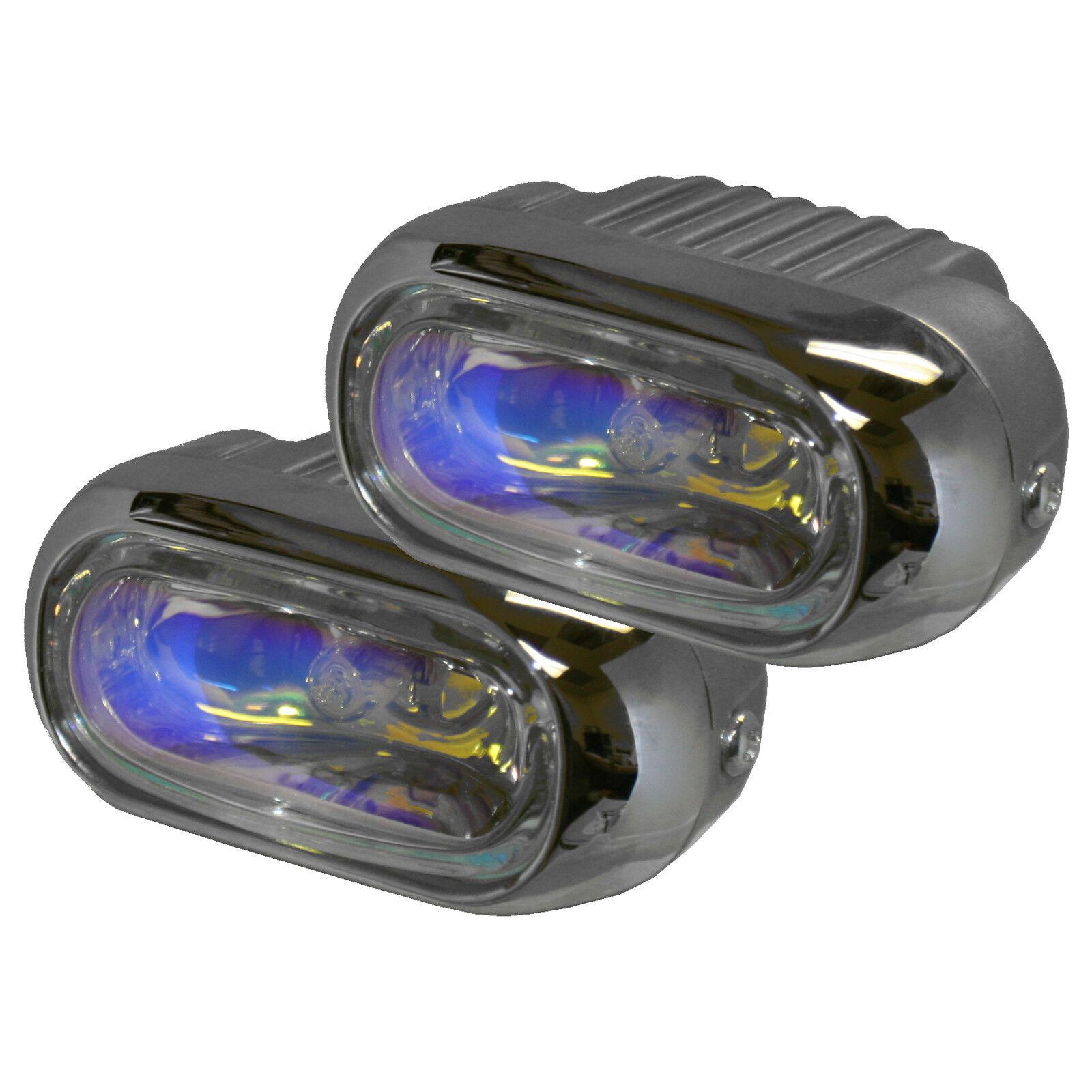 oval fog lights driving lamps w wiring kit fits most cars trucks