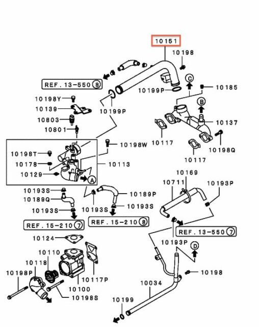 1998 mitsubishi montero sport engine diagram