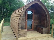 Camping Pod Garden Log Cabins Ebay