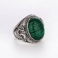 Malachite Rings for Men