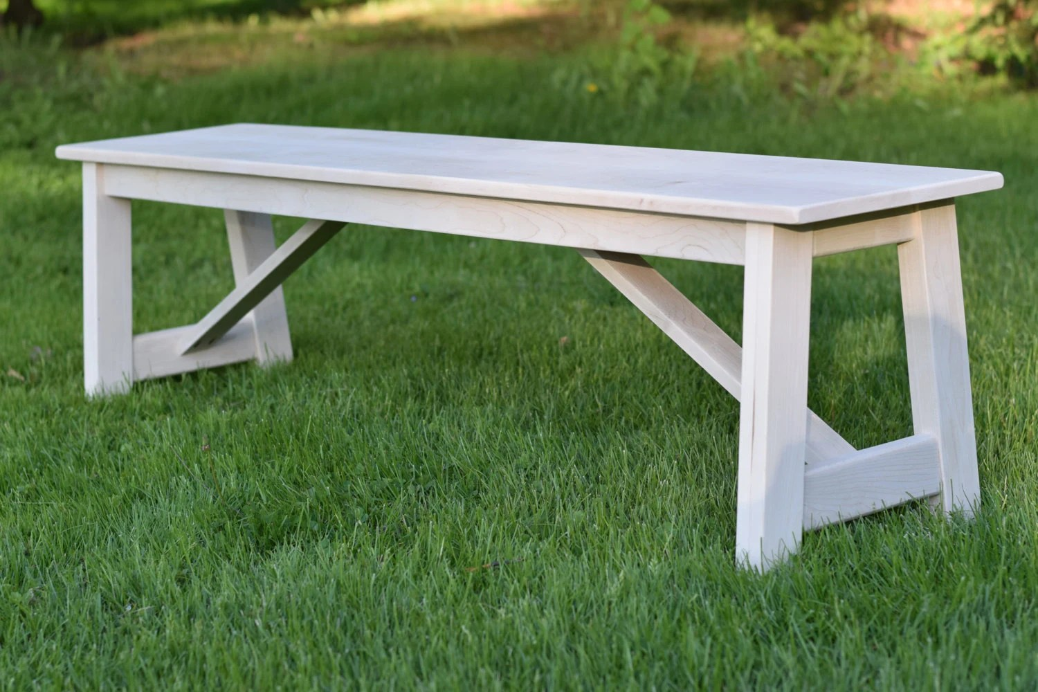 Wooden Bench Table Farmhouse Bench Handmade Wooden Bench