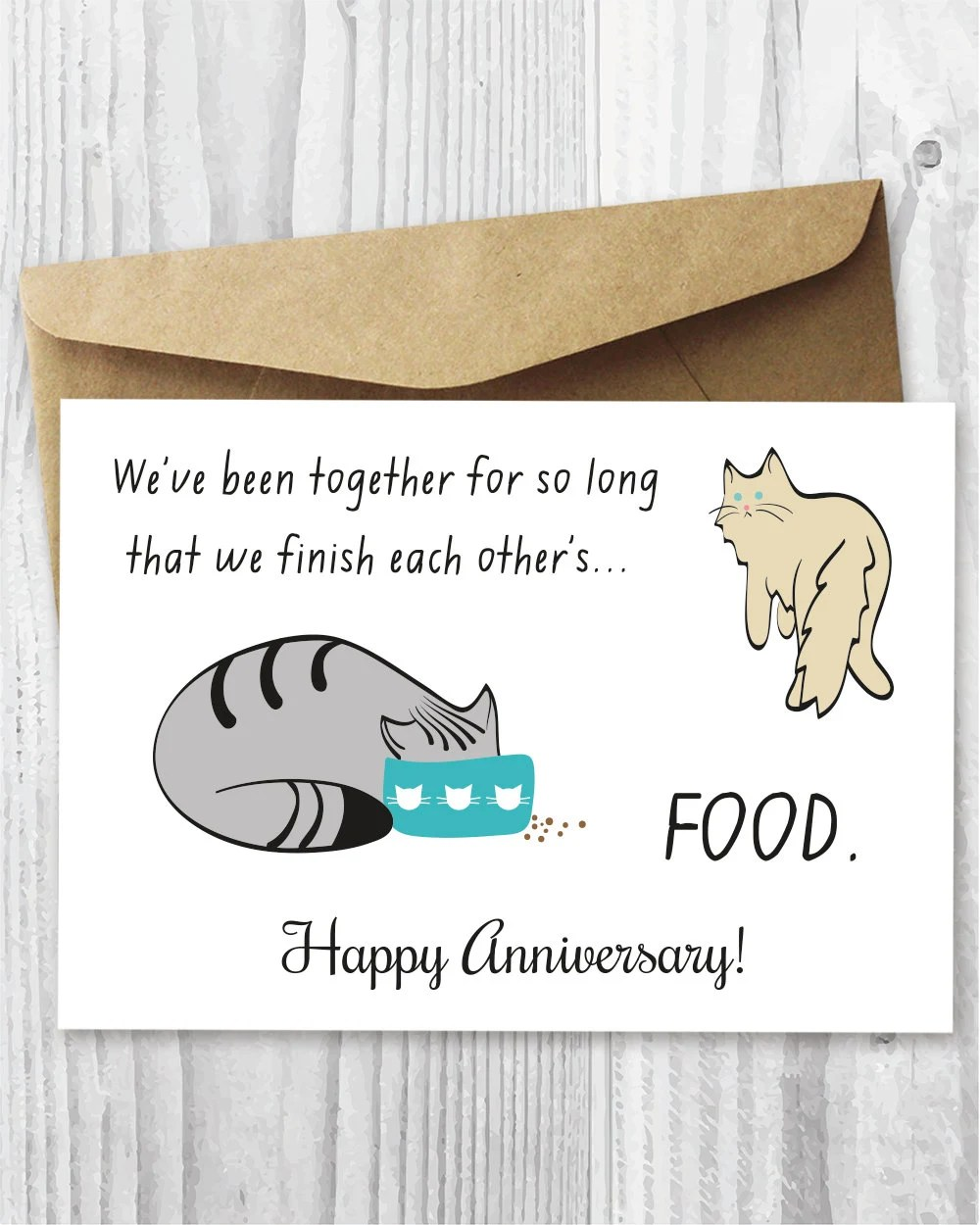 Happy Anniversary Card Printable Funny Anniversary Card