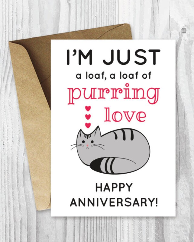 photograph regarding Funny Printable Anniversary Cards named Anniversary Card, Printable Anniversary Card, Humorous