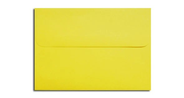 20 Bright Yellow Envelopes in A7 A6 A2  A1 Response Sizes Etsy