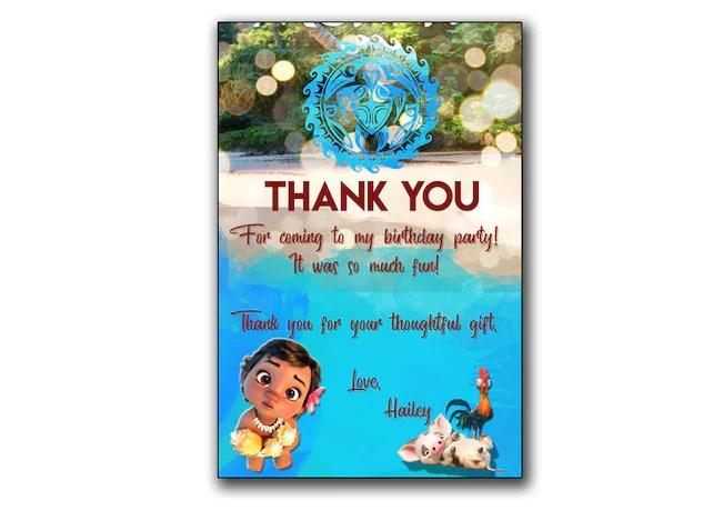 Baby Moana Invitation,Baby Moana Birthday card,Moana PRINTABLE