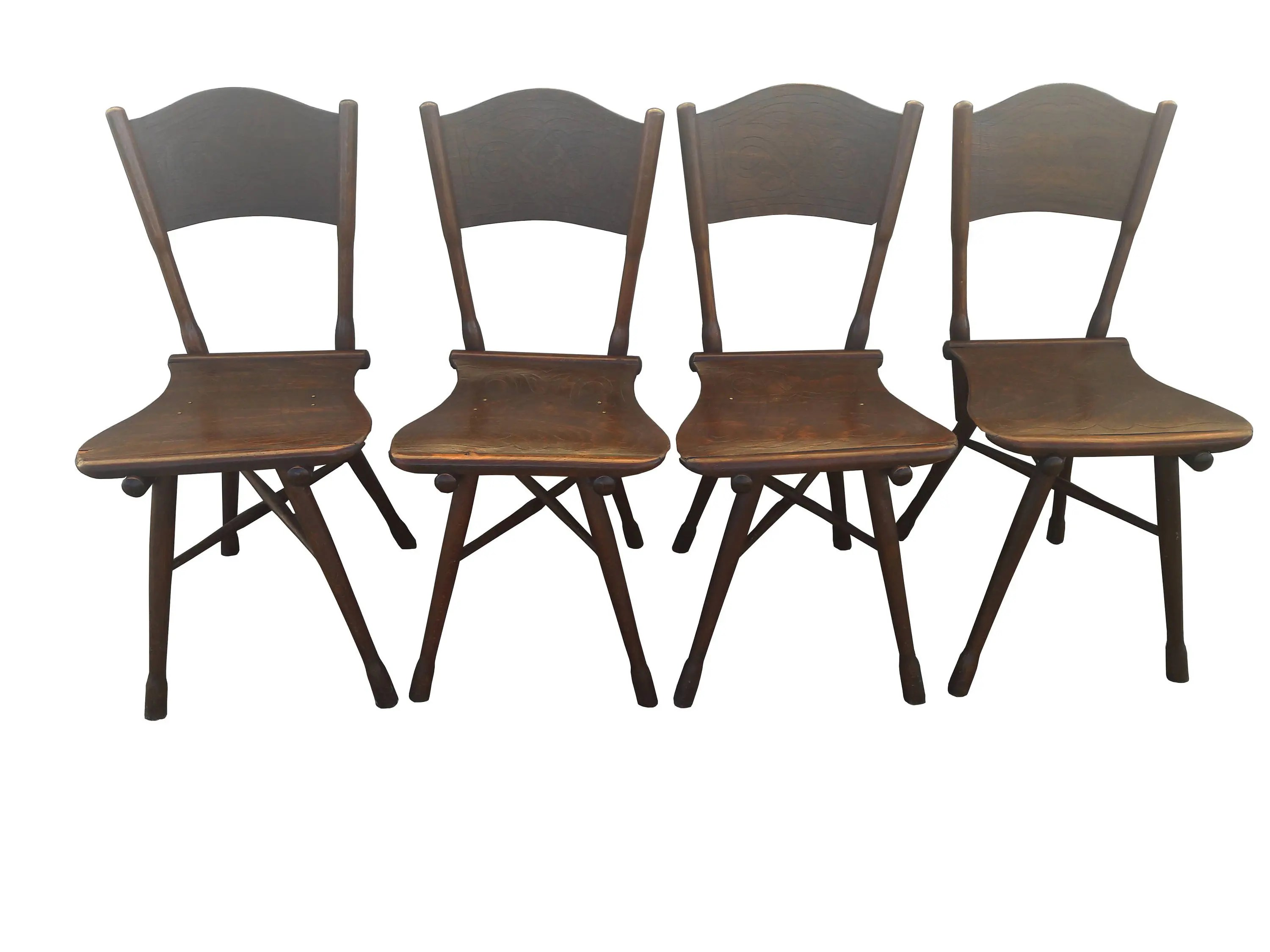 Sessel Made In Germany Antique Thonet Garden Chairs Set Of 4 Antique Carved German Bistro Garten Chairs