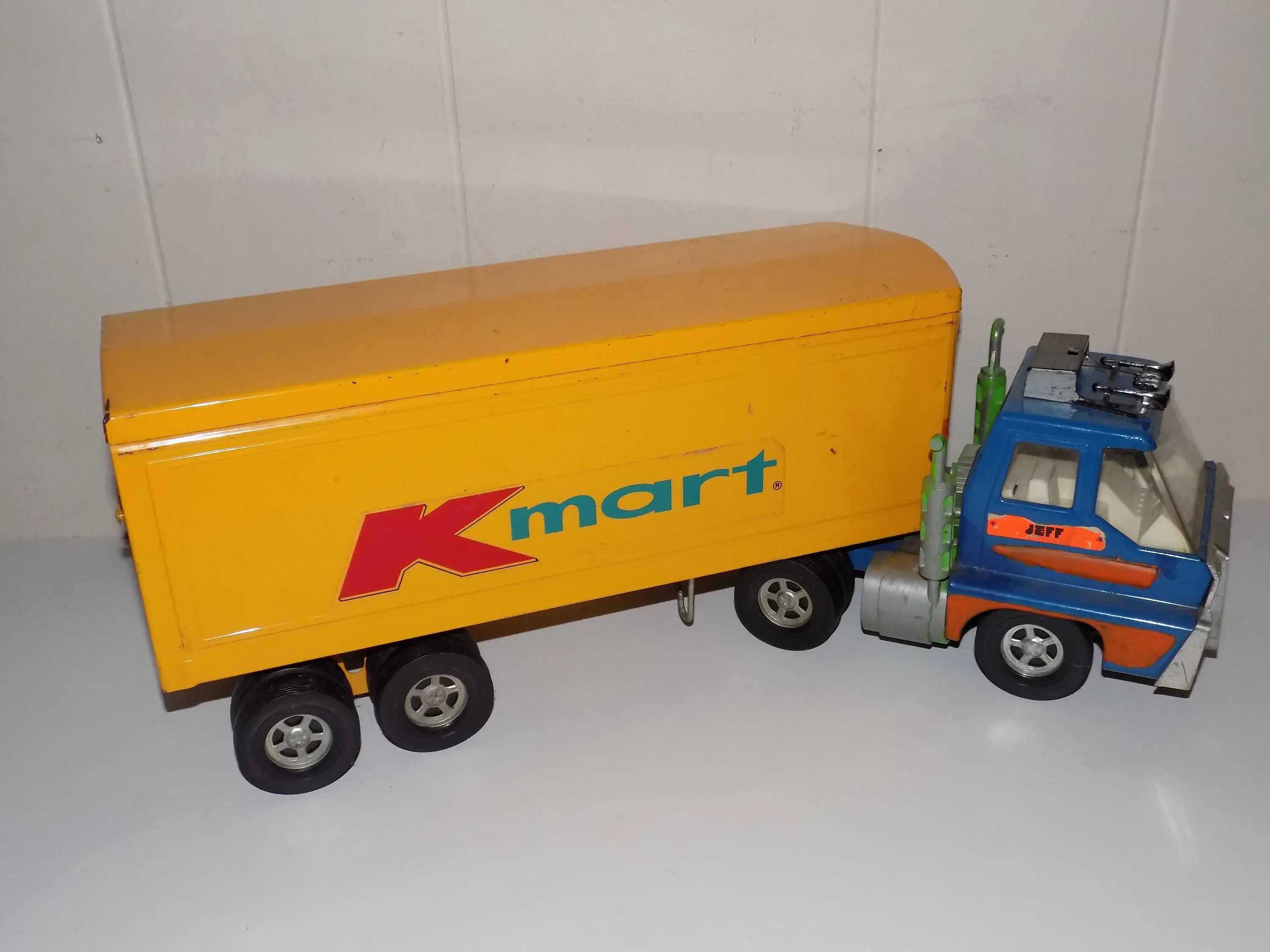 Candle Making Kit Kmart Vintage Ertl Pressed Steel Kmart Tractor Trailer