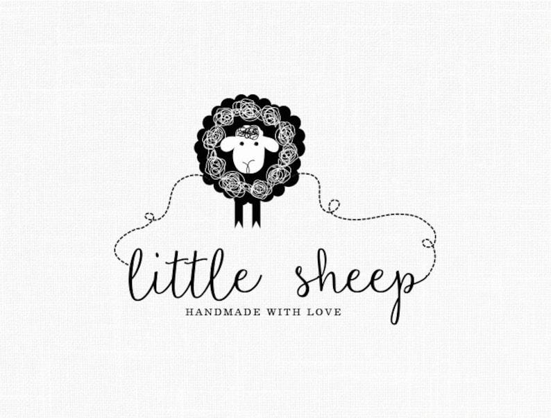Little Sheep Logo Design Sewing Logo Fabric Logo Clothing Logo Etsy