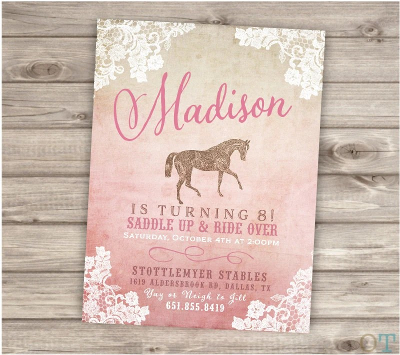 Rustic Lace Horse Thank You Tags Printable Gift Tags Shabby Chic