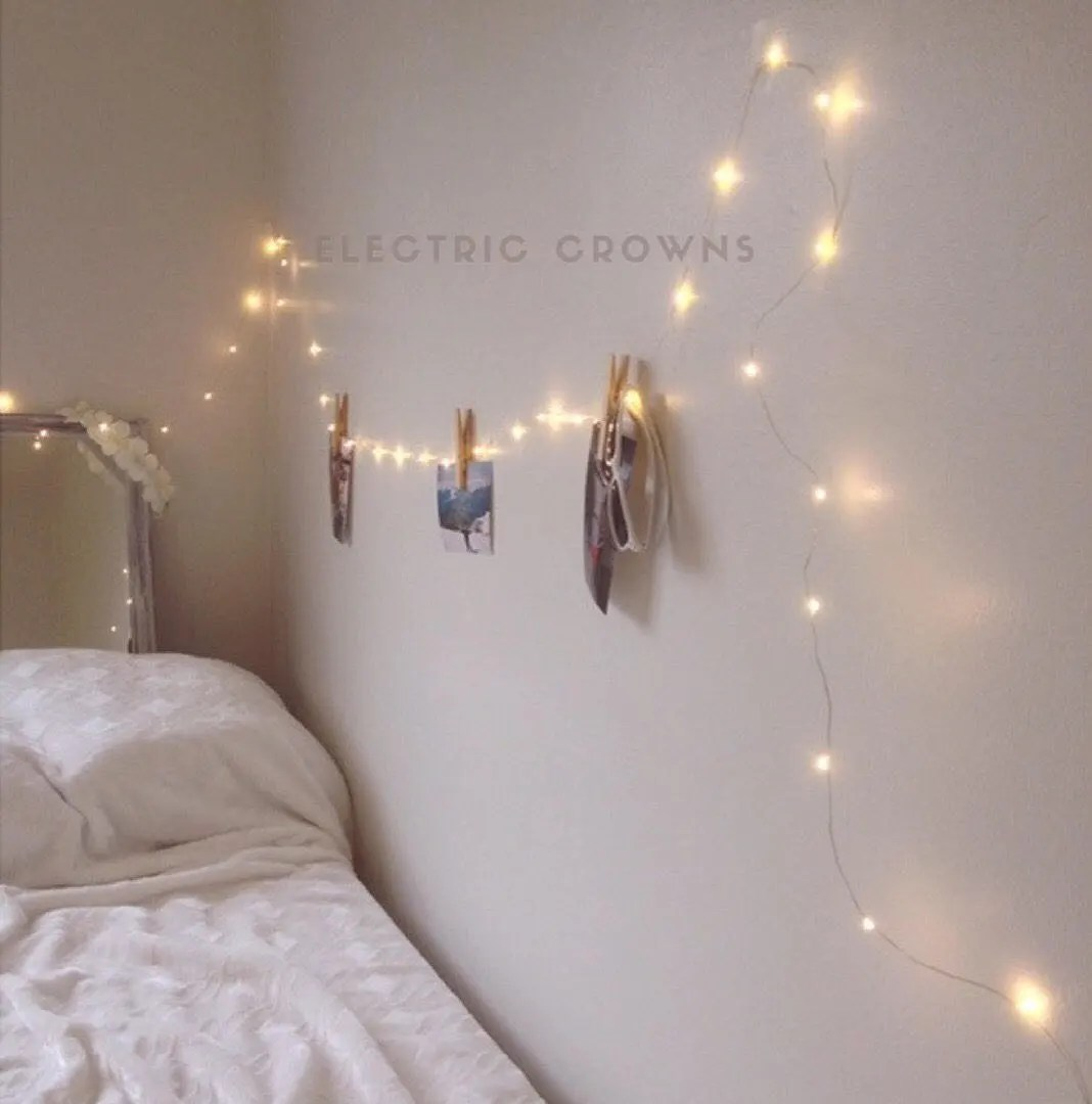 Cool Hanging Lights For Bedroom Fairy Lights Bedroom String Lights For Bedroom Hanging Lights Dorm Decor Plug In Battery