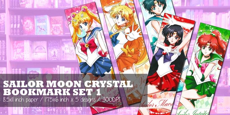 INSTANT DOWNLOAD   Sailor Moon Crystal Inspired Digital Etsy
