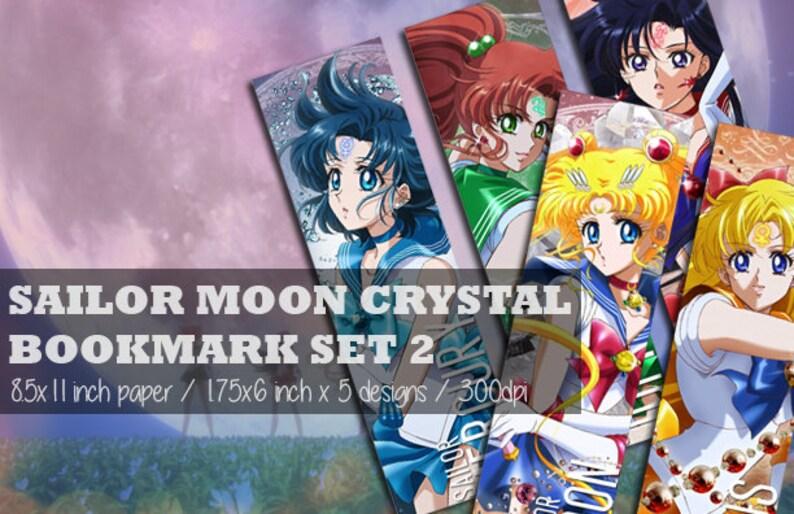INSTANT DOWNLOAD   Sailor Moon Crystal Set 2 Anime Digital Etsy