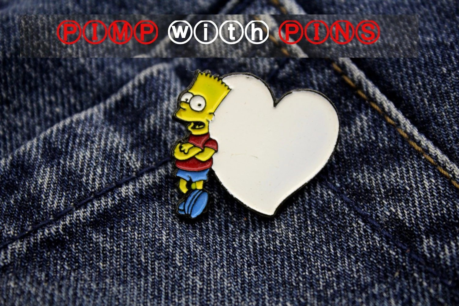 Pimp Je Bank Pimp With Pins The Simpsons Vintage Clothes Pins Patches Enamel Pin Brooch 50s 60s 70s 80s 90s Jewelry Pin