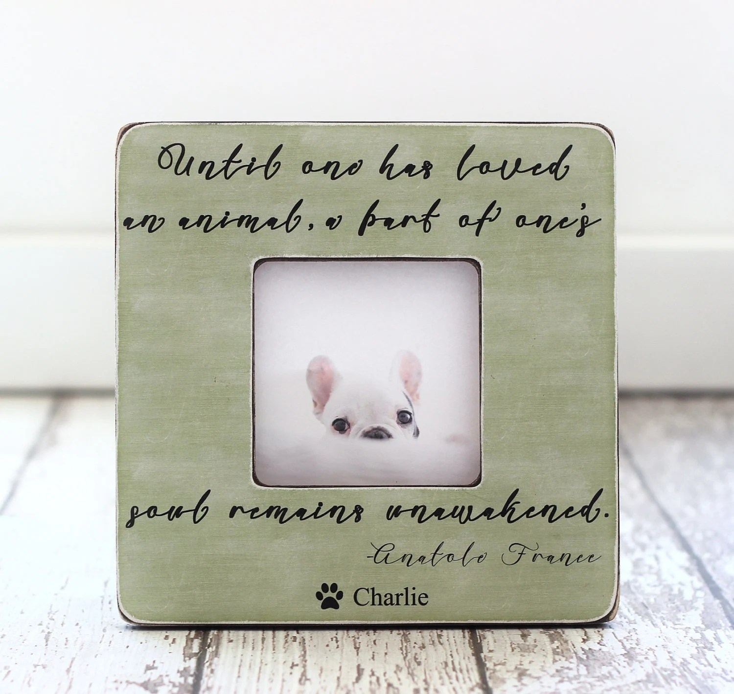 Pet Gift Pet Lover Owner Pet Loss Sympathy Personalized Etsy