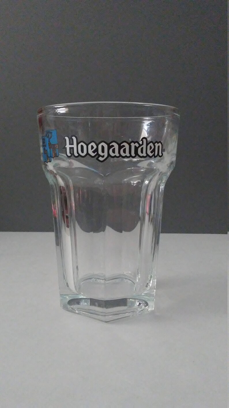 Bicchieri Hoegaarden 24 Oz Huge Hoegaarden Beer Stein Belgium Ale Gold Advertisment Glass Fluid Fl Ounce Double Happy Hour Drinking Oktoberfest Vintage