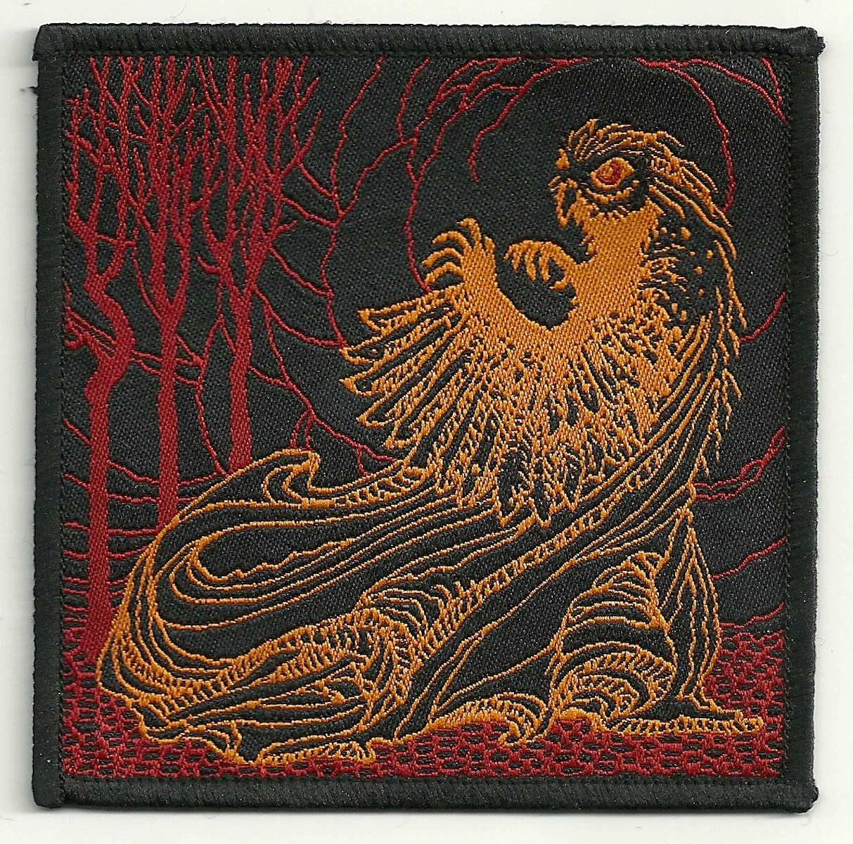 Lechuza Shop Owl Witch Lechuza Woven Patch Occult