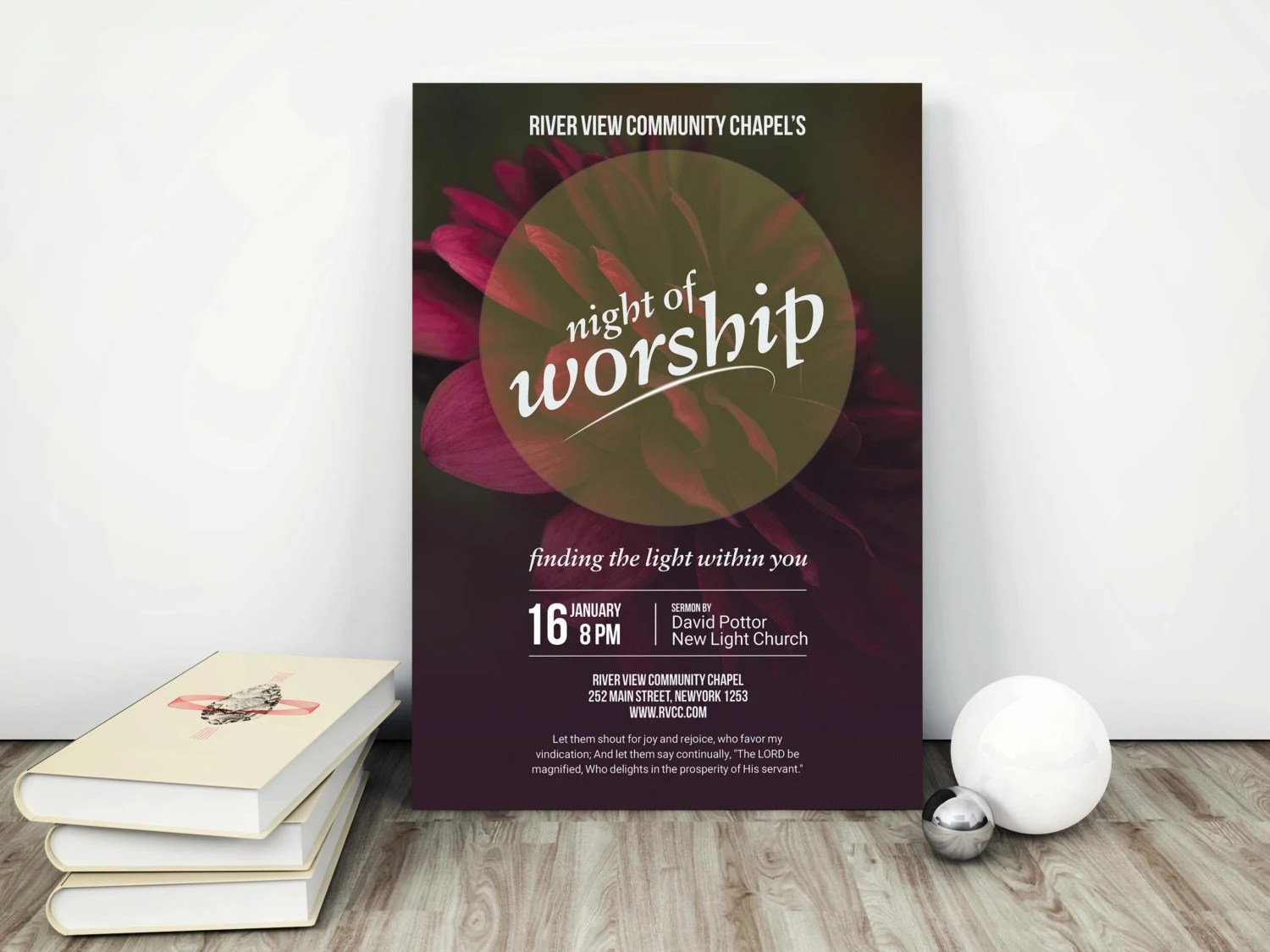 Church Flyer Church Event Church Marketing Worship Night Etsy