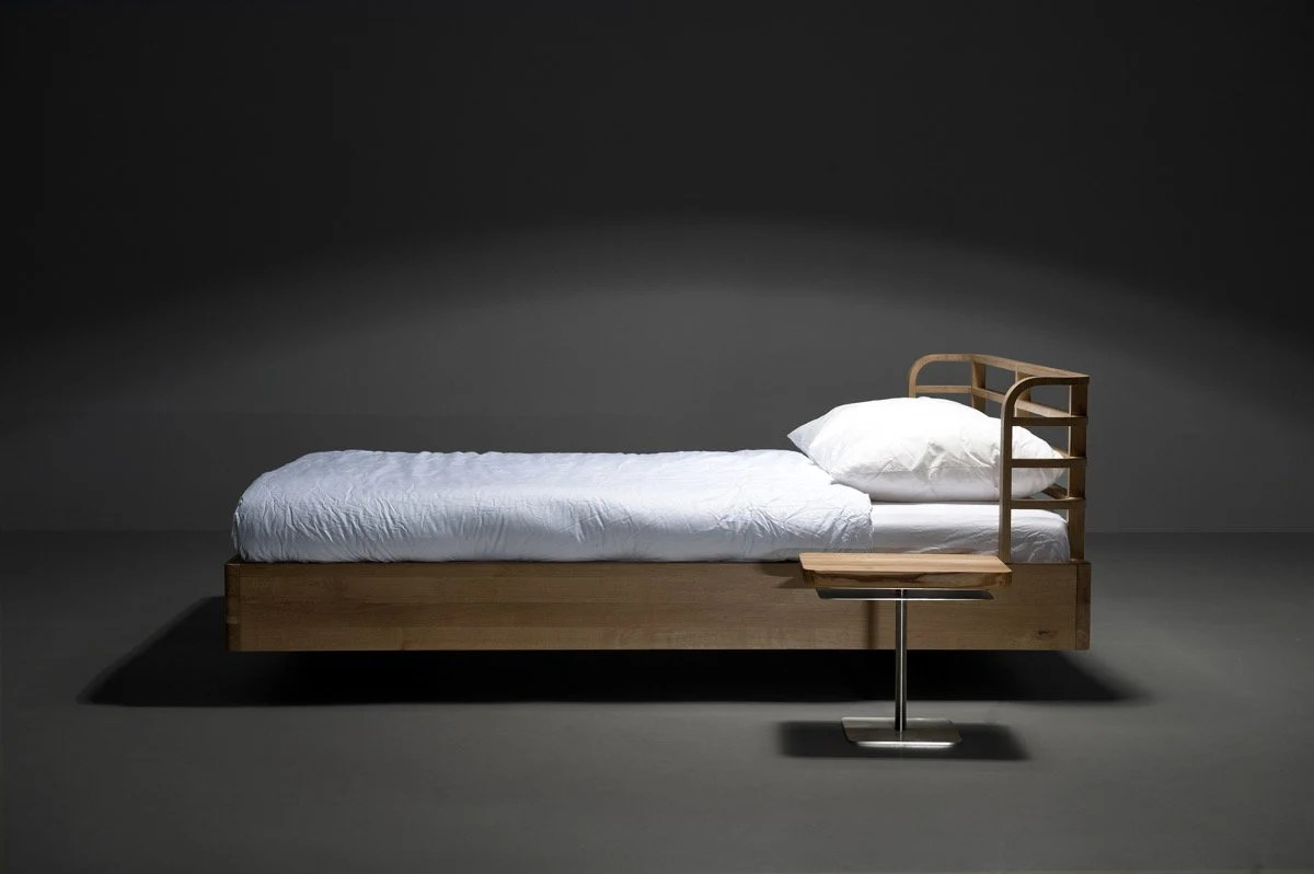 Mazzivo Bett Mazzivo Exclusive Bed Bow 160x200 Outlet King Size Solid Alder List Price 1419eur
