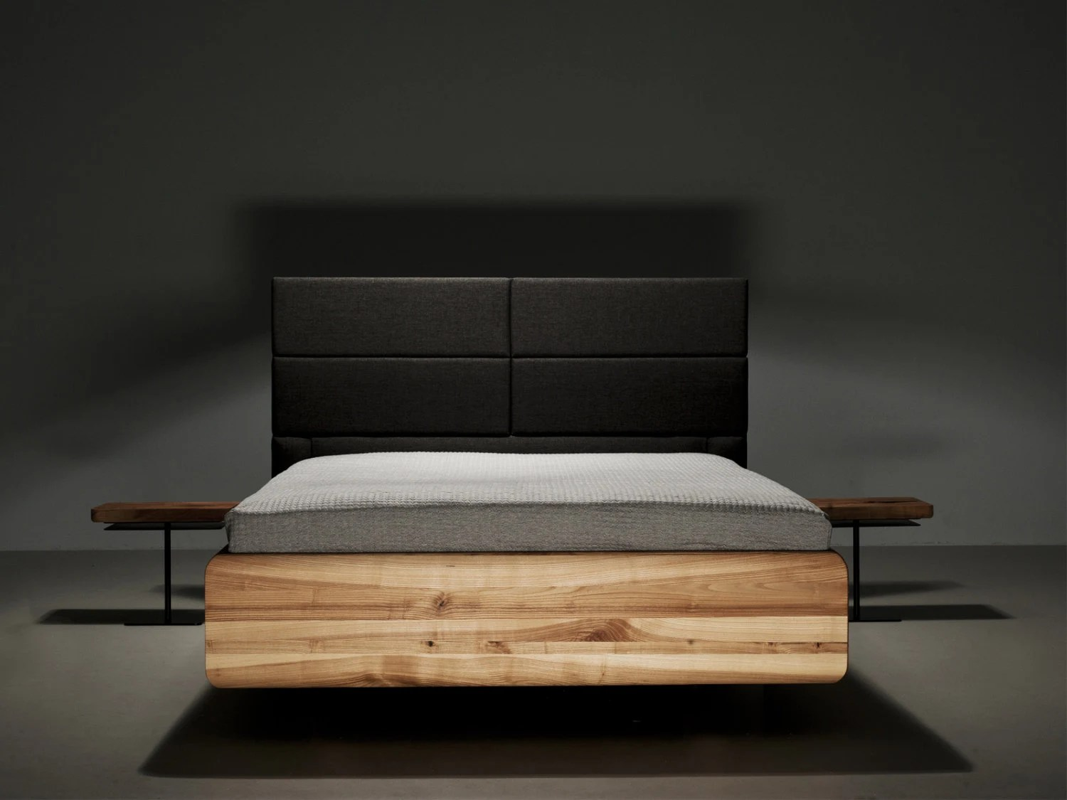 Boxspring 140x200 Mazzivo Bed Boxspring I Outlet I 140x200 I Solid Alder I Rrp 1499