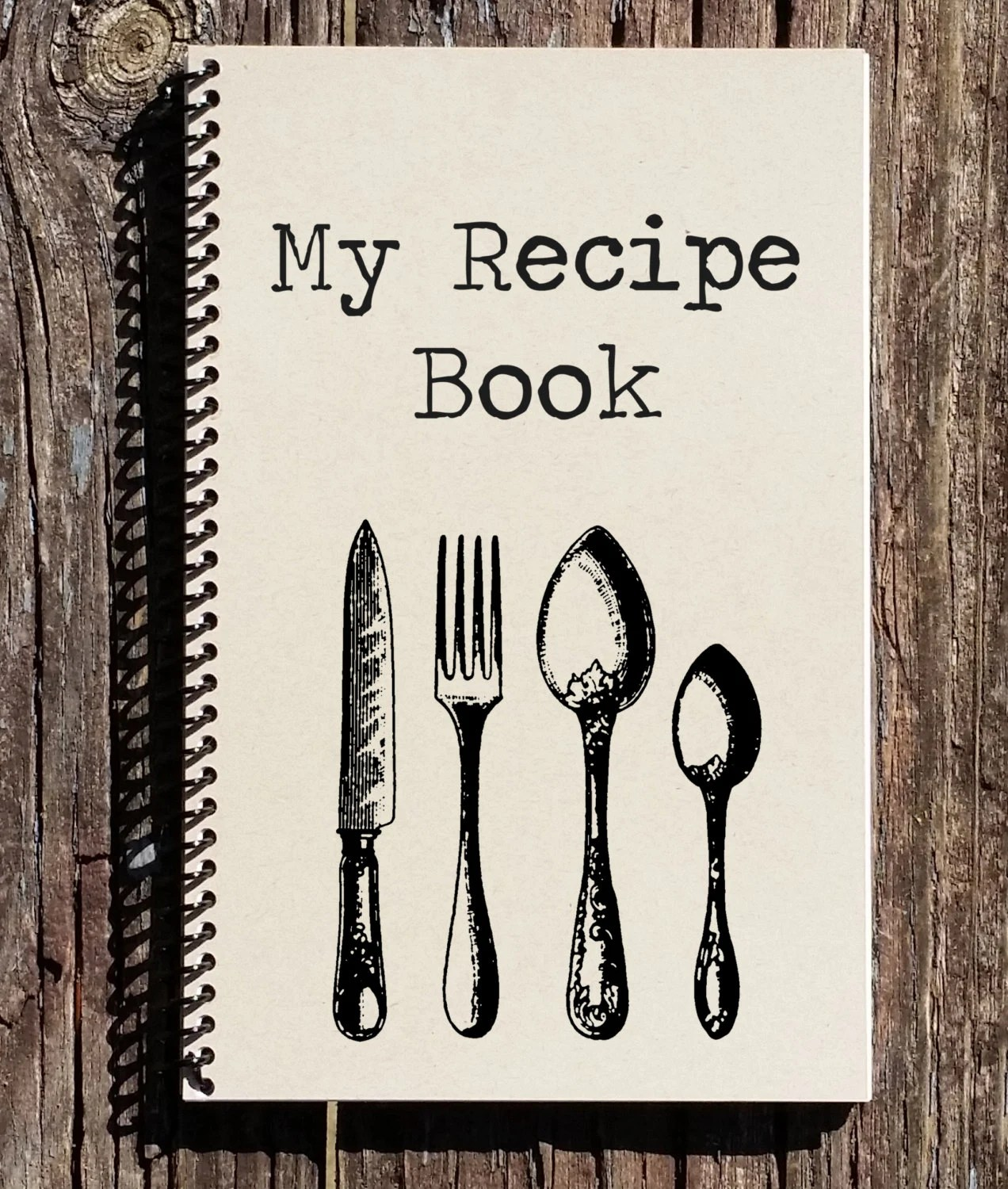 Recipe Book Recipe Journal My Recipes Notebook Journal Etsy