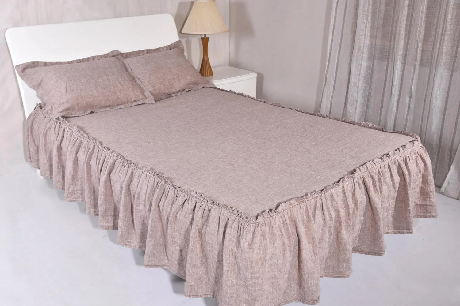 Bed Coverlet Bed Coverlet Drop Length 15