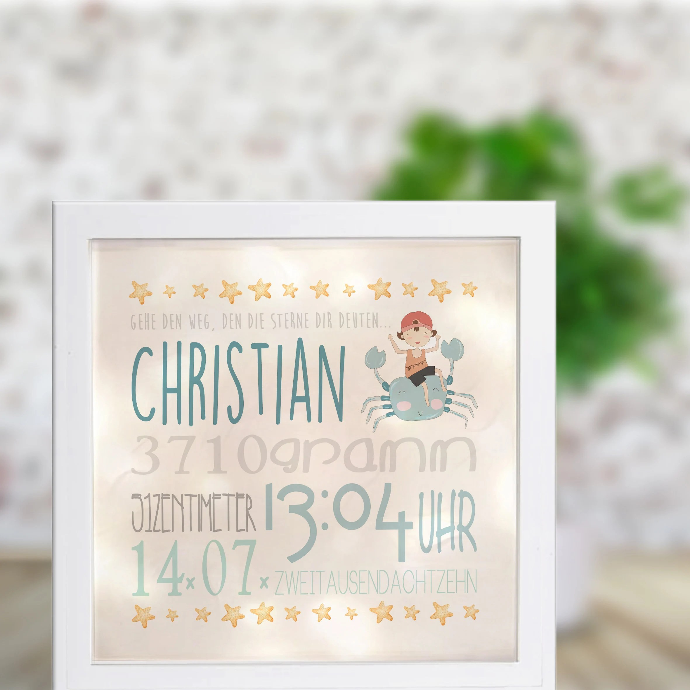 Paspartoe Hema Light Frame Night Light Wall Lighting Christian