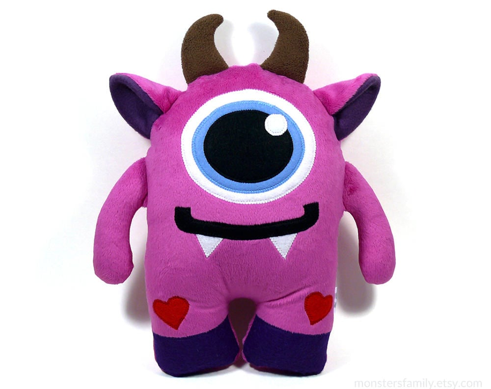 Toy Monster Cute Stuffed Monster Plush Toy Stuffed Animal Monster