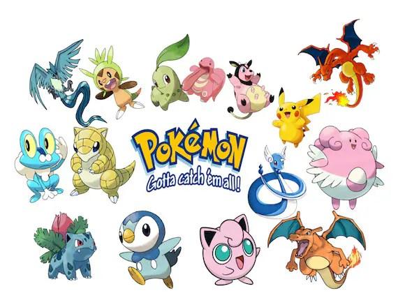 Pokemon Go Image, Pokemon Go Cutout, Pokemon Go Template, Pokemon - pokemon template