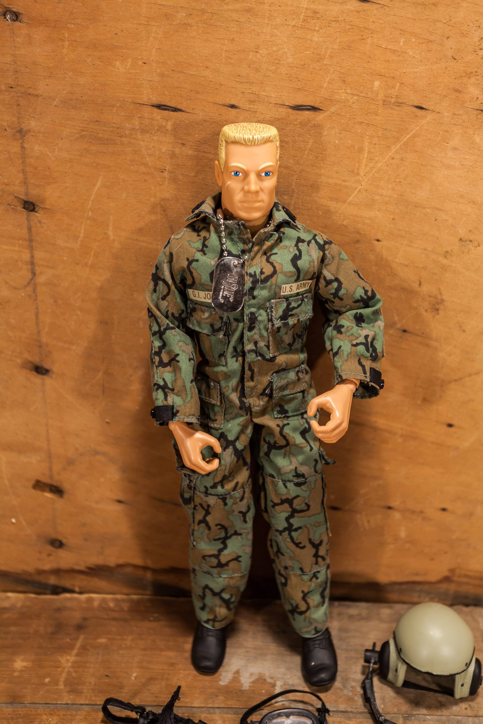 Doll Toys R Us Vintage 1996 Gi Joe Hasbro Us Army Tank Commander Action