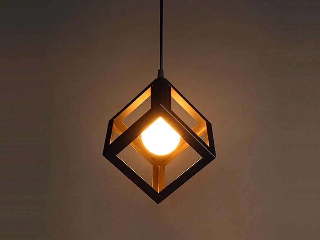 Ceiling Light Near Me Iron Cube Pendant Light Stylish Chandelier Hanging Cube Industrial Chandelier Pendant Light Modern Lighting Kitchen Chandelier
