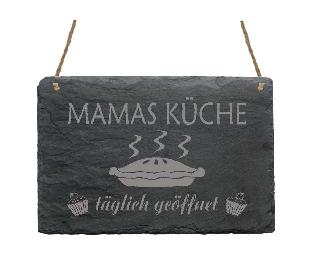 Gesetzliches Rücktrittsrecht Kaufvertrag Küche Slate Slab Mamas Know Shield Slate Door Door Decoration Wall Decoration Gift Mom Mother Cooking Cake Mother S Day