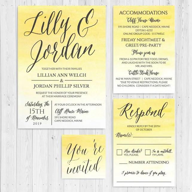 Wedding Invitations With RSVP Online, Wedding Invitations Online