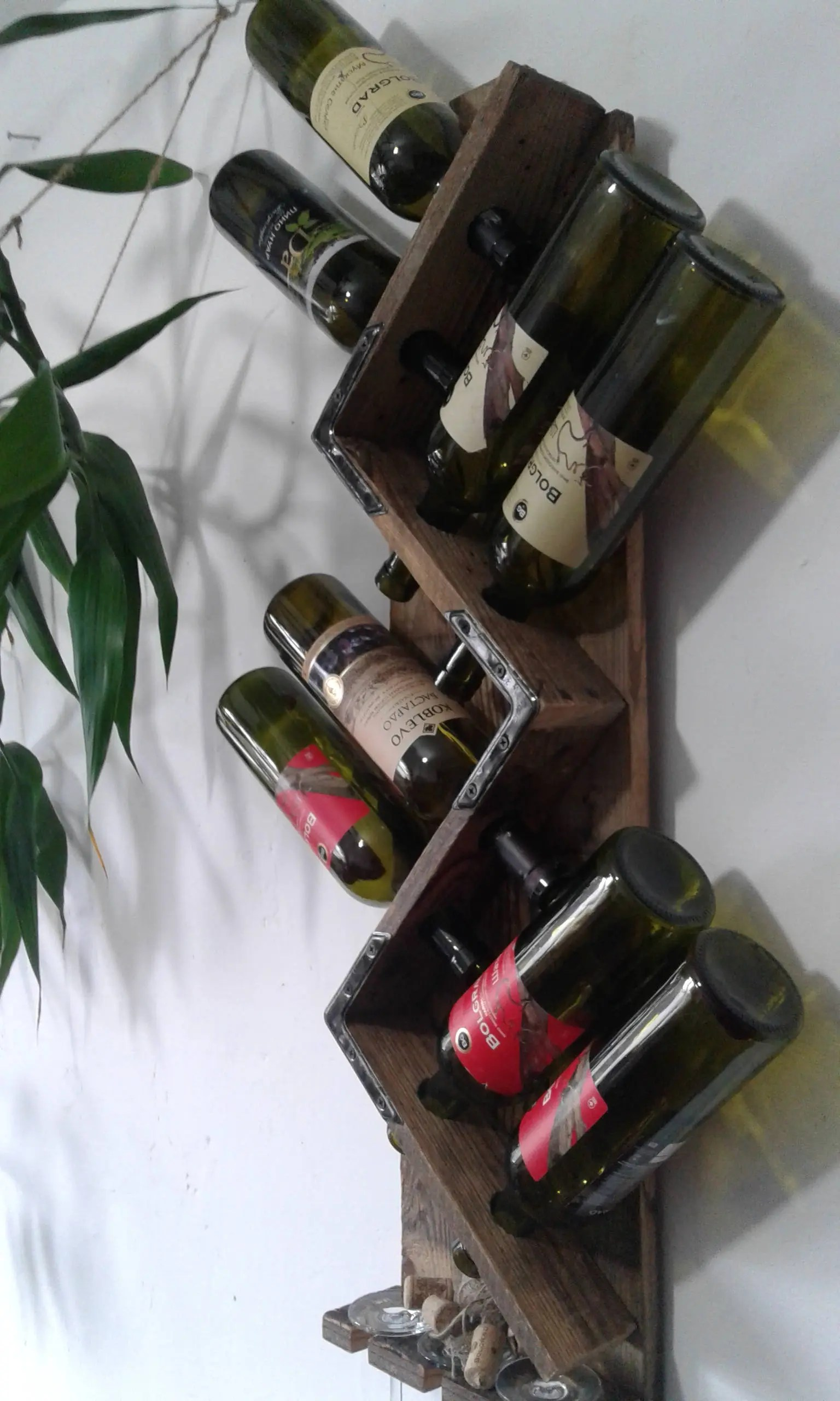 Small Wine Stand Wine Holder Vertical Wine Rack Tall Wine Rack Home Mini Bar Small Home Bar Indoor Bar Wine Stand Wine Bottle Rack