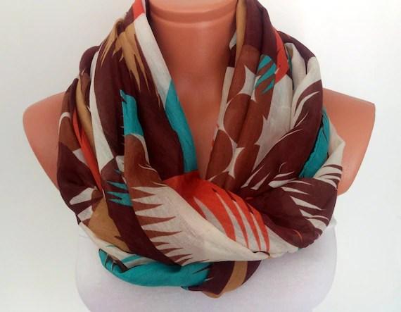Silk Chiffon Scarf For Her Summer Scarf Colorful Scarf Etsy