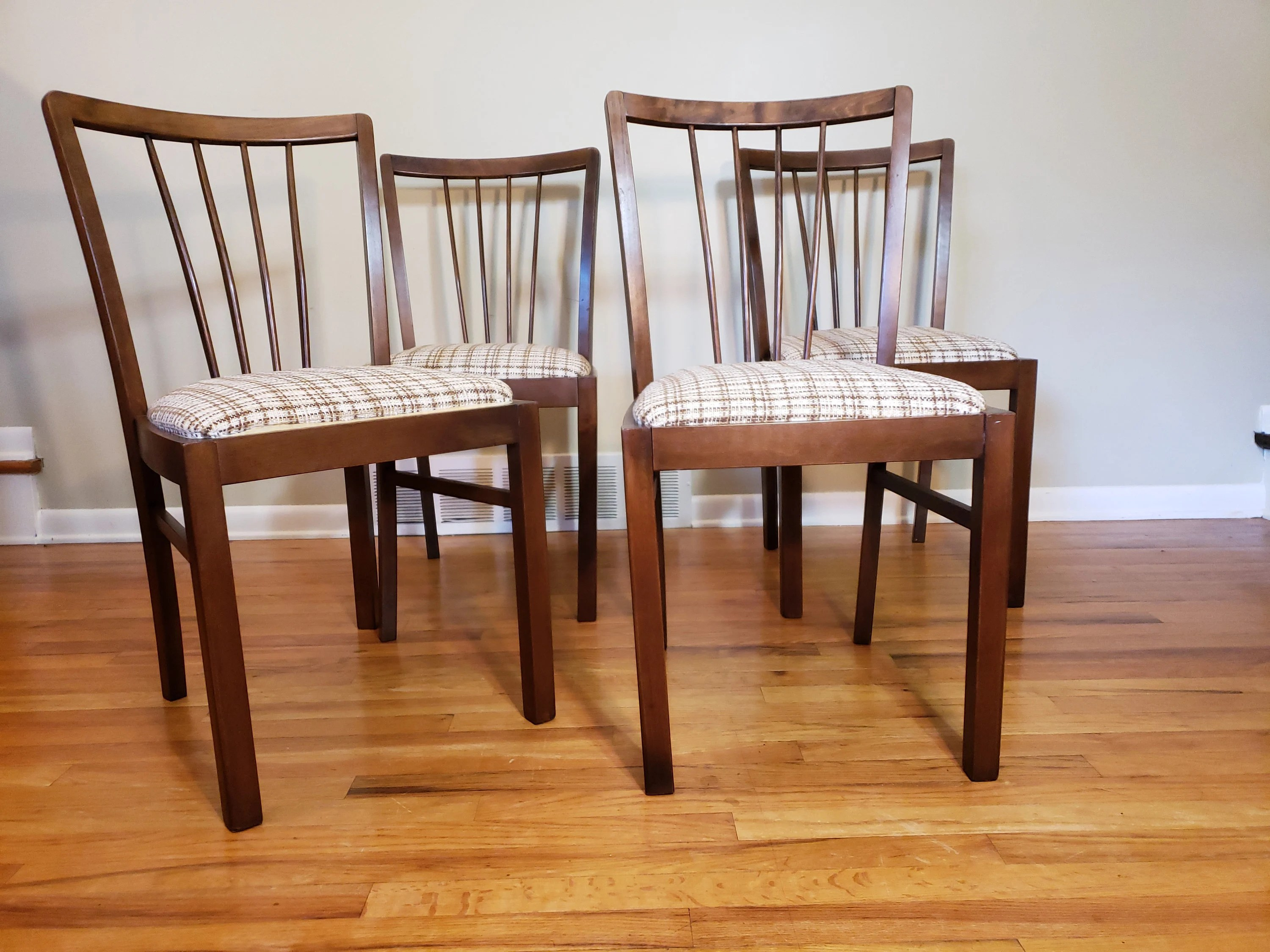Danish Modern Dining Chairs For Sale Mid Century Danish Modern Set Of Four Dining Chairs Made In West Germany