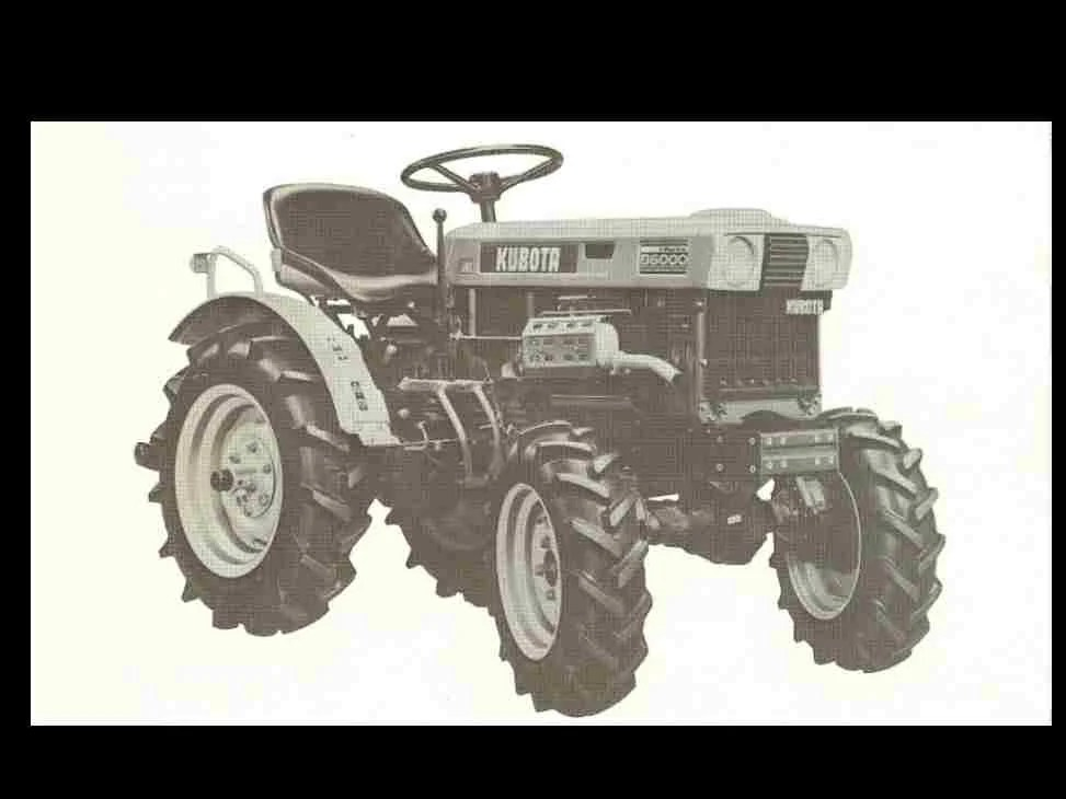 KUBOTA B6000 B6000E Tractor Parts Manual 115pg for Service and Etsy