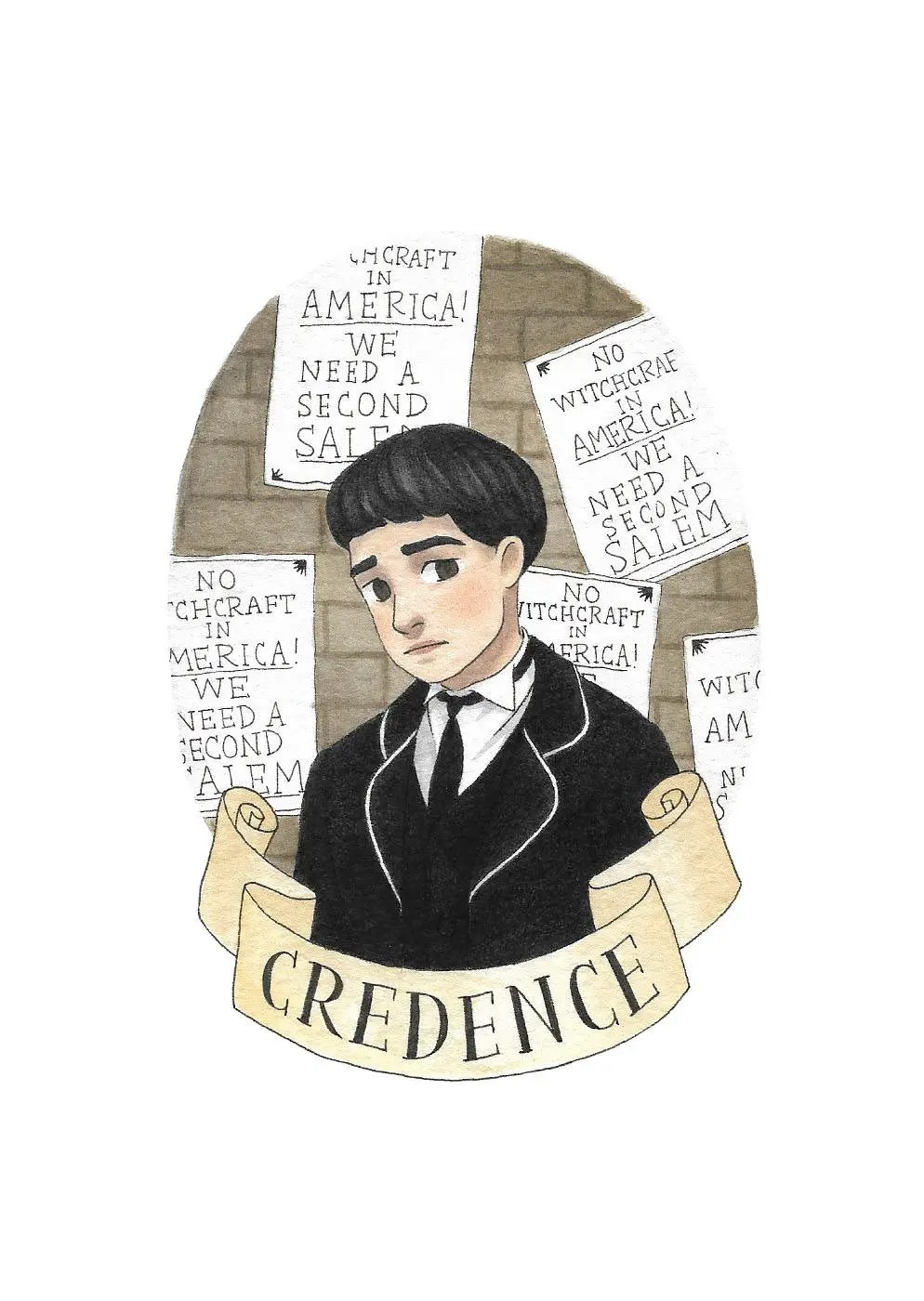 Credence Decorative Credence Art Print