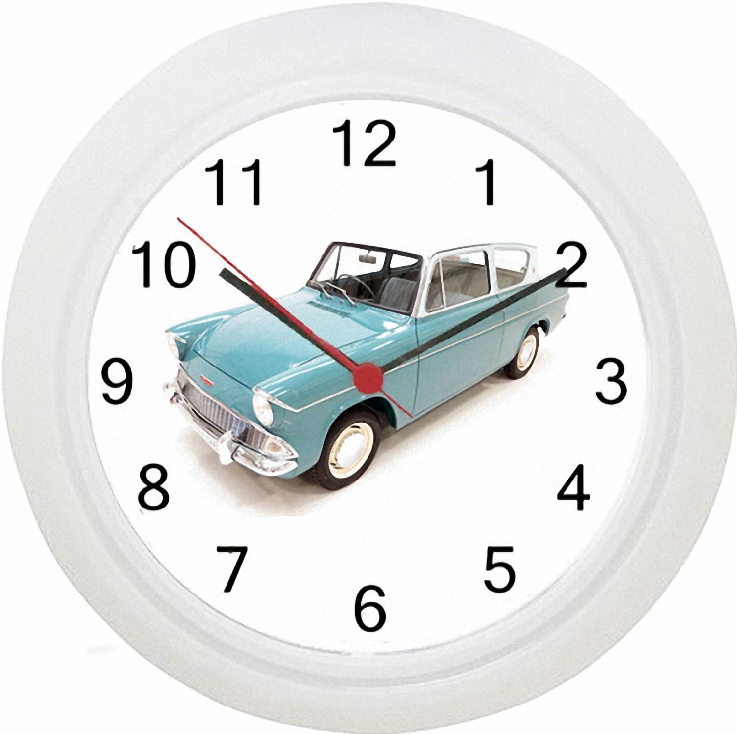 Flying Ford Anglia Harry Potter Mr Weasley Wall Clock No Etsy