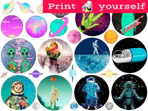 Set 303 Mockup printable Tumblr Stickers Stickers Sets Etsy