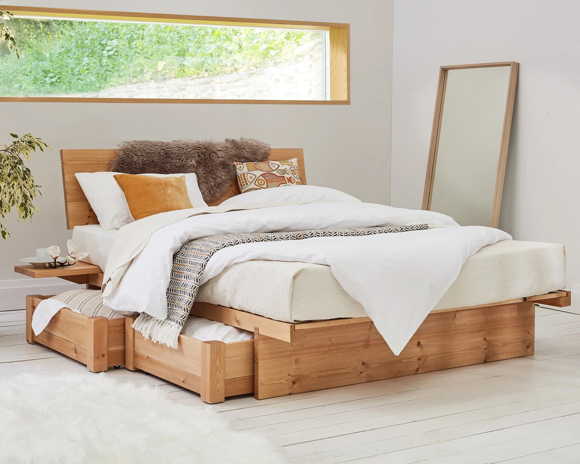 Wooden Beds Japanese Wooden Bed Frame By Get Laid Beds