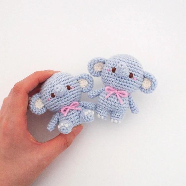 Crochet Doll Amigurumi Pattern Elephant GGoMa series toy Etsy