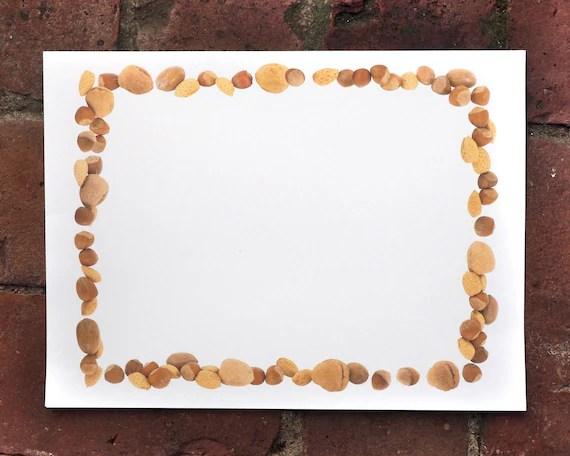 Nuts Digital Border Printable Nut BorderFall Harvest Nut Etsy