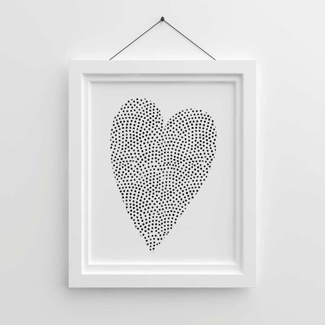Tumblr Poster Heart Printable Love Poster Valentines Day Etsy