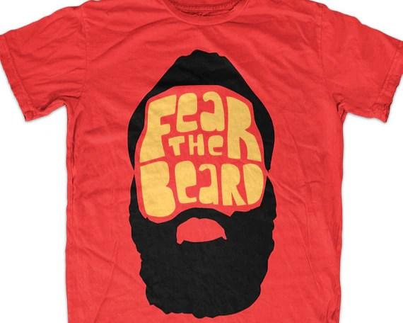 FEAR THE BEARD t-shirt Etsy
